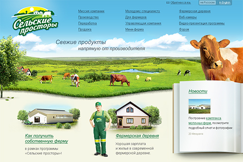 Site Localization for Agropark Management