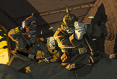 Valiant Hearts: The Great War. Russian Localization