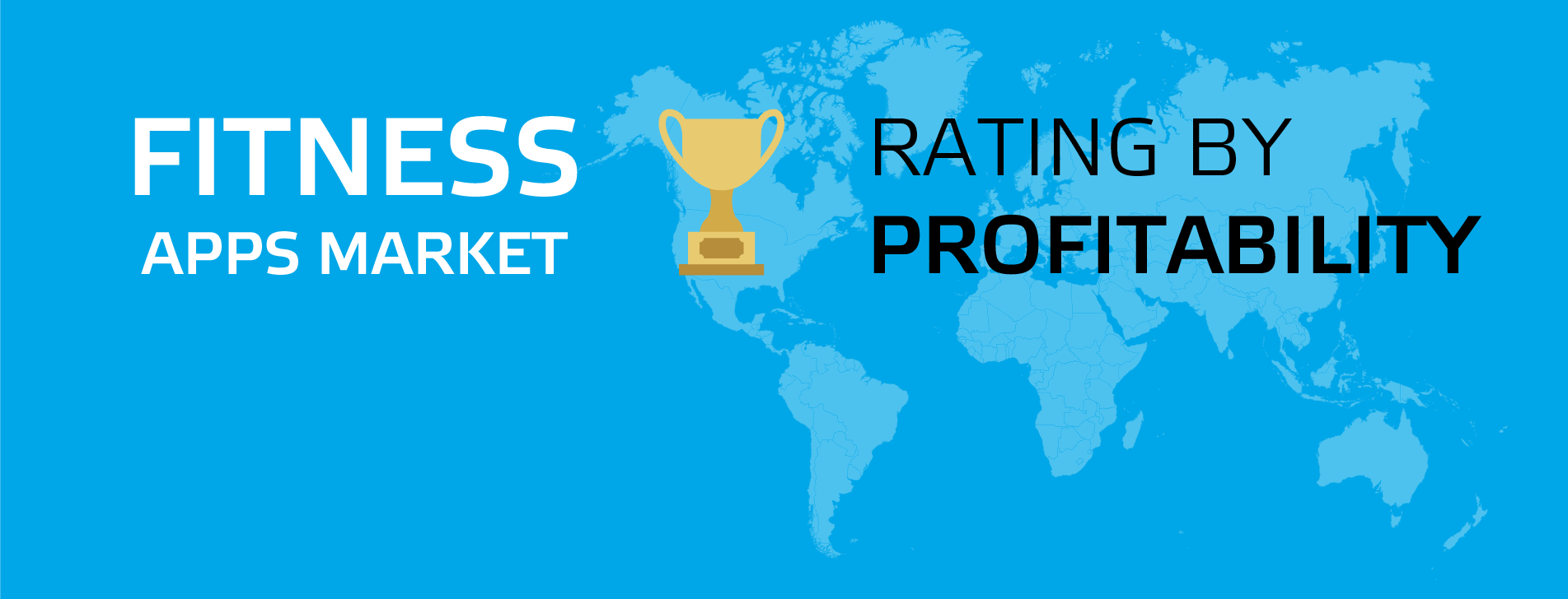 MOBILE FITNESS APP MARKET RATING BY PROFITABILITY