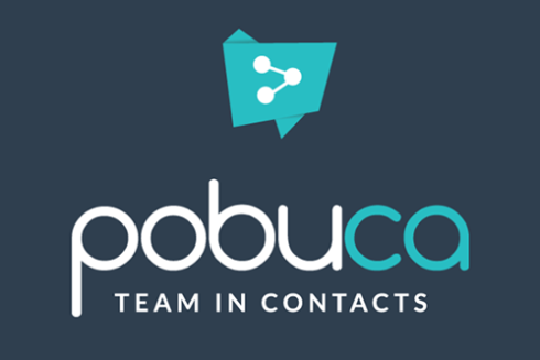 Pobuca: localizing applications for organizing business contacts